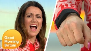 Piers Uses an Electric Shock Bracelet on Susanna and Richard | Good Morning Britain
