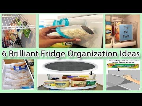 6 Brilliant Fridge Organization Ideas