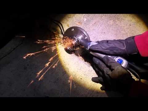 BMW E46 Rear Wheel Bearing DIY (Removing Inner Bearing Race from Hub)