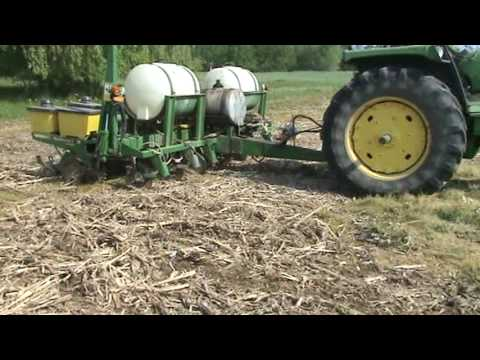 How to plant a Corn Maze, Seed Placement