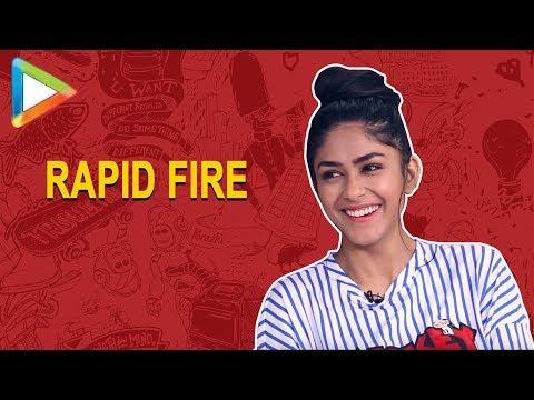 Xxx Mp4 Hrithik Ya John Who Is HOTTER Mrunal Thakur's EPIC Answer Baahubali Rapid Fire 3gp Sex