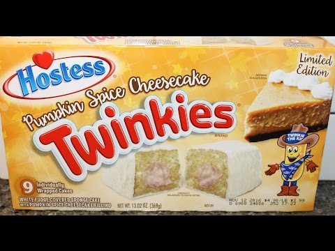 Twinkies: Pumpkin Spice Cheesecake Review