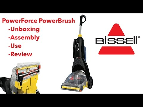 Bissell PowerForce PowerBrush: Unboxing, Assembly, Use, and Review