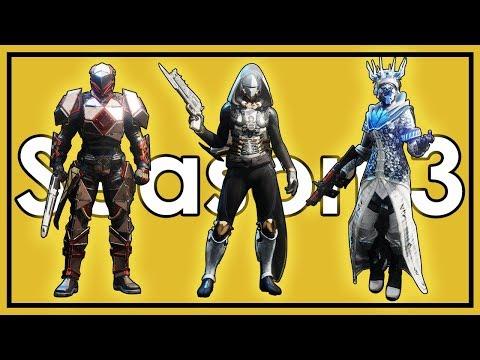Destiny 2: Datto's Season 3 Fashion Show and Weapon Loadouts