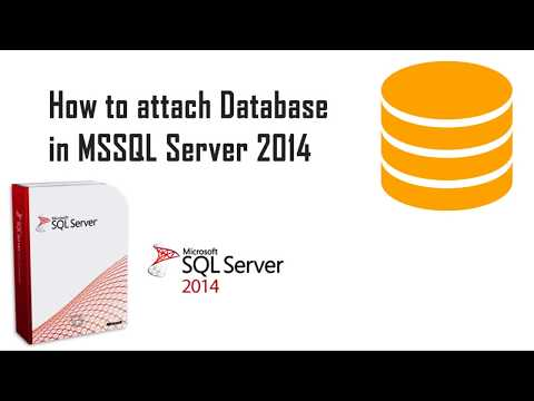 How To Attach Database in Sql Server 2014