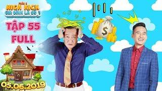 Gia đình là số 1 Phần 2   tập 55 full:  Minh Ngọc khốn đốn vì liên tục làm ông Tài thua lỗ bạc triệu