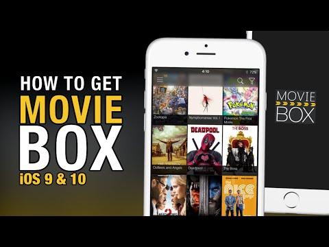 Get Movie Box & PlayBox HD iOS 10 (NO JAILBREAK) (NO COMPUTER) on