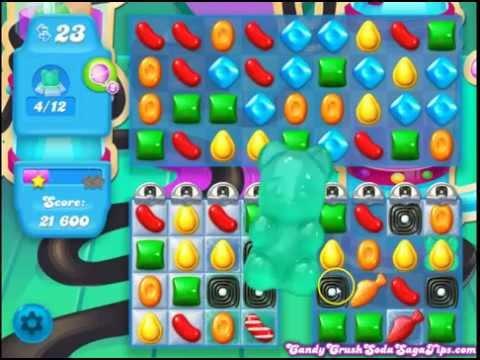 Candy Crush Soda Saga Level 181 No Boosters