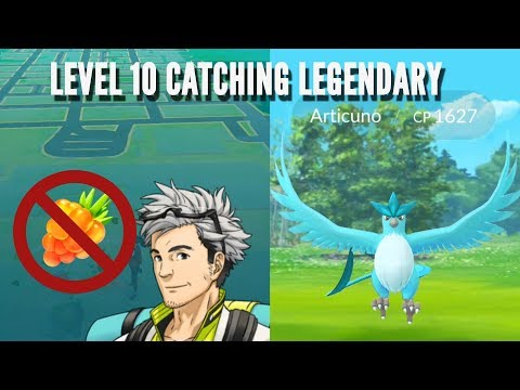 Low level player catches Zapdos, Articuno, Lugia and Moltres? Pokemon go Legendary raid.