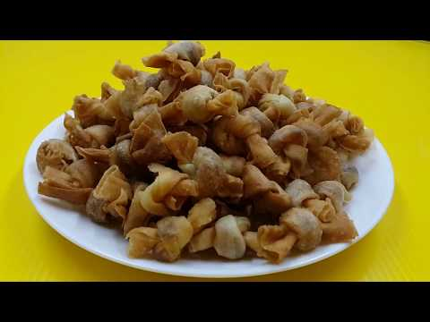 Deep Fried Mini Chicken Floss Spring Roll ● Homemade Recipe [Simple & Easy]