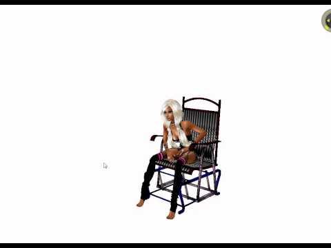 Gliding Rocker Chair Derivable