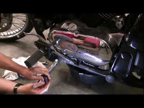 How to change motorcycle oil,  Kawasaki Vulcan