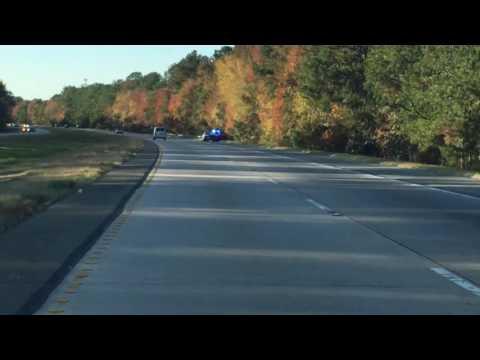 Georgia State Patrol on a Traffic Stop on I-16