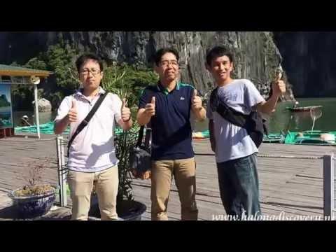 Nakashima group in Halong bay, Halong tours from Hai Phong