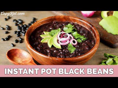 Instant Pot Spicy Black Beans