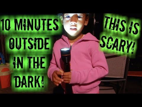 10 MINUTES IN THE DARK CHALLENGE *Without My Parents Knowing!*
