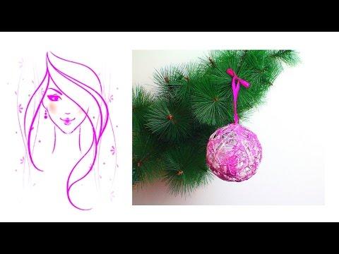 MORENA DIY: HOW TO MAKE SNOWBALL CHRISTMAS ORNAMENT