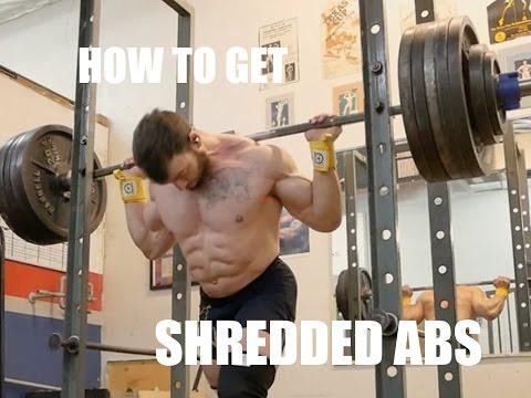 The SECRET to Shredded Abs
