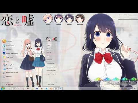 Windows 7 Theme Koi to Uso