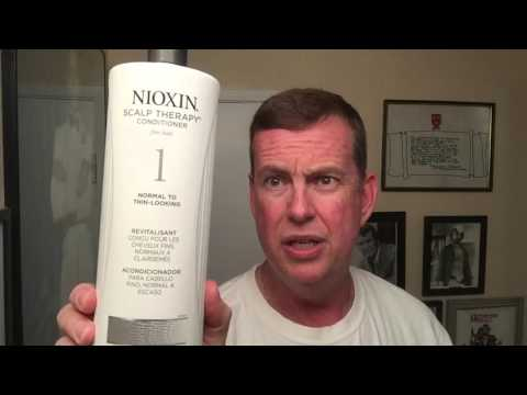 My Review on Nioxin Shampoo, treatment to stop thinning hair & hair loss.
