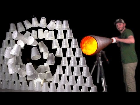 Building a High Velocity Vortex Cannon