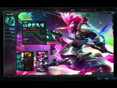League Of Legends Account for sell [EUNE]