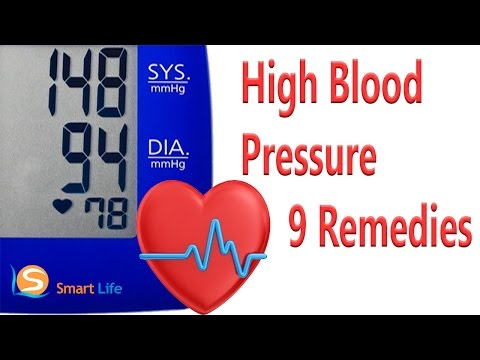 9 Magical Remedies For High Blood Pressure Treatment