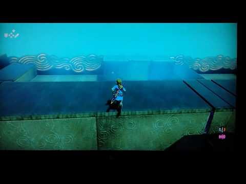 The legend of Zelda : Bug of the wild : Link tombe dans le vide infini !!