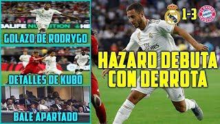 HAZARD DEBUTA CON DERROTA (3-1) | GOLAZO DE RODRYGO | BALE APARTADO | DETALLES DE KUBO