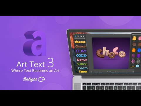 Art Text 3 - Where Text Becomes an Art