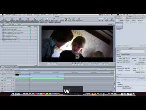 Apple DVD Studio Pro Tutorial part 2: tracks, subtitles, and menus!