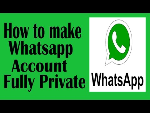 How to make WhatsApp account fully private [Hindi]