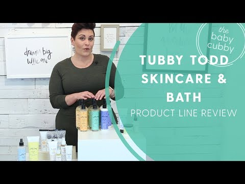 Tubby Todd Bath & Skincare Product Review