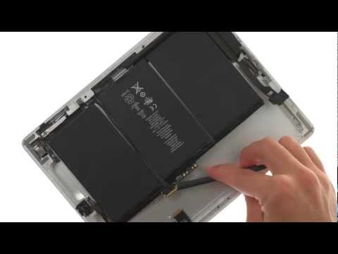 Battery Repair -  iPad 2 GSM How to Tutorial