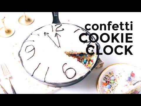 Confetti Cookie Clock