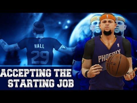 NBA 2K14 Next Gen MyCAREER - Accepting The Starting Job - Asking For Trade?