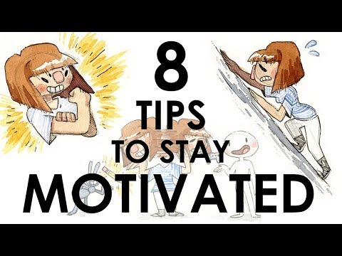 TIPS TO STAY MOTIVATED (For Artists!)