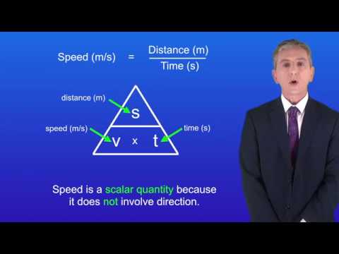GCSE Science Physics (9-1) Speed