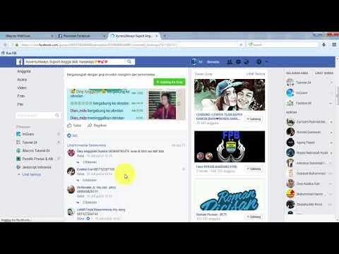 Facebook Bot iMacros || Cara menggunkan fitur scraper [ User. Grup. Whatsapp. BBM. Line ]