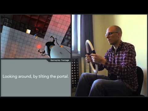 A one game controller for Portal