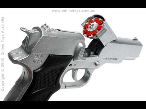 Semi-Automatic Metal Die-Cast Toy Cap Gun - Model 1911 Government