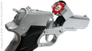 Semi-Automatic Metal Die-Cast Toy Cap Gun - Model 1911 Government