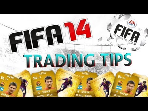 Fifa 14 Ultimate Team - My First Team / Trading Tips