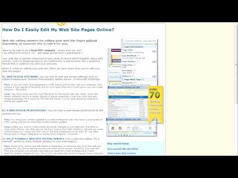 Optimizing your website for Search Engines (SEO) Using HTML Editor