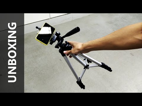 Phone Tripod Unboxing and Hands on