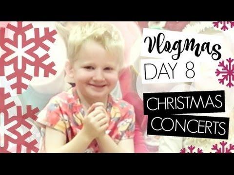 VLOGMAS DAY 8 / Christmas Concerts