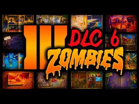 NEW BO3 Zombies DLC 6 (Yes I Said Six) - Evidenced Leaked