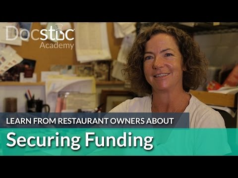Restaurant Perspective: Securing Funding