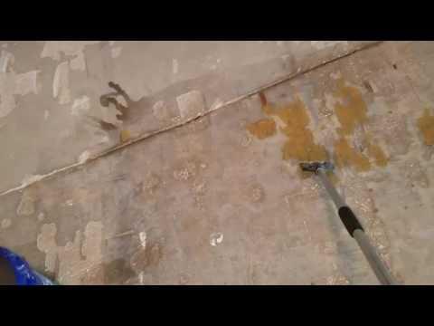 Concrete glue removal