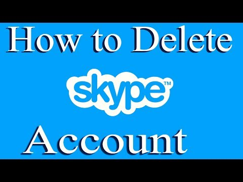 How To Delete Skype Account Permanently 2018